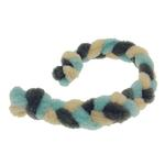View Image 1 of Twist Braided Dog Tug Toy - Blue/Gray
