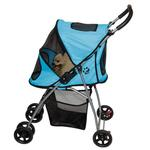 View Image 1 of Ultra Lite Pet Stroller - Ice Blue
