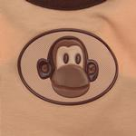 View Image 2 of Monkey Dog Tank Top with Scented Patch