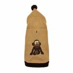 View Image 2 of Monkey Dog Sweater with Hood