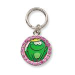 View Image 1 of Unity Collar Charm by Doggles - Frog Prince w/ Crystals