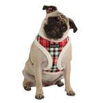 View Image 1 of Uptown Argyle Dog Harness by Puppia - Red