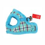 View Image 1 of Uptown Dog Harness by Puppia - Aqua