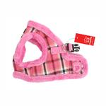 View Image 1 of Uptown Dog Harness by Puppia - Pink