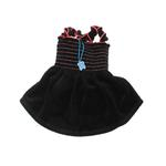 Uptown Girl Dog Dress - Black