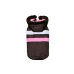 View Image 1 of Urban Ski Vest by Hip Doggie - Brown & Pink