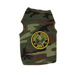 View Image 1 of U.S. Army Crest Dog Tank Top - Camo