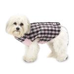 View Image 1 of Vail Checkered Dog Vest - Pink