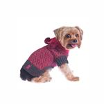 View Image 1 of Varsity Girl Dog Sweater with Scarf