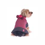View Image 2 of Varsity Girl Dog Sweater with Scarf