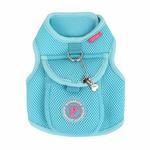 View Image 3 of Vera Pinka Dog Harness by Pinkaholic - Aqua