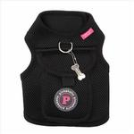 View Image 3 of Vera Pinka Dog Harness by Pinkaholic - Black