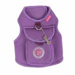 View Image 3 of Vera Pinka Dog Harness by Pinkaholic - Purple