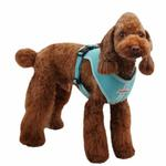 View Image 1 of Vera Snugfit Dog Harness by Pinkaholic - Aqua