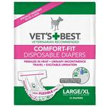 View Image 1 of Vet's Best Disposable Dog Diapers