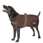 View Image 3 of Wagga Wool Dog Coat - Chocolate Brown