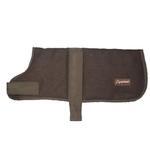View Image 2 of Wagga Wool Dog Coat - Chocolate Brown