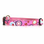 View Image 1 of WaLk-e-Woo Martini Dog Collar - Pink