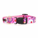View Image 2 of WaLk-e-Woo Martini Dog Collar - Pink