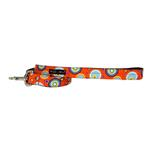 WaLk-e-Woo Martini Dog Leash - Orange