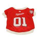 View Image 1 of Washington Nationals Baseball Dog Jersey