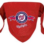 View Image 1 of Washington Nationals Mesh Dog Bandana