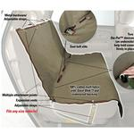 View Image 2 of Waterproof Bench Pet Seat Cover - Beige