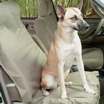 View Image 1 of Waterproof Bucket Pet Seat Cover - Beige