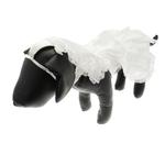 View Image 5 of Wedding Dog Dress Costume with Veil