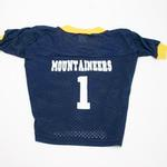 View Image 1 of West Virginia Mountaineers Dog Jersey