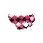 View Image 1 of Whistler Winter Wear Dog Jacket - Pink Argyle