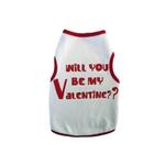 View Image 1 of Will You Be My Valentine Dog Tank
