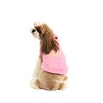 View Image 3 of Willy the Whale Hooded Dog Shirt by Puppia - Pink