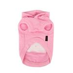 View Image 2 of Willy the Whale Hooded Dog Shirt by Puppia - Pink