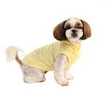 View Image 3 of Willy the Whale Hooded Dog Shirt by Puppia - Yellow