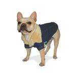 View Image 2 of Winter Chic Denim Dog Jacket by Dogo