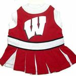 View Image 1 of Wisconsin Badgers Cheerleader Dog Dress