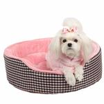 View Image 1 of Witty Dog Bed by Pinkaholic  - Pink