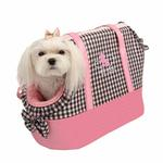 View Image 1 of Witty Dog Carrier by Pinkaholic  - Pink