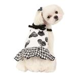 View Image 1 of Witty Dog Dress by Puppia - Black