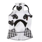 View Image 2 of Witty Dog Dress by Puppia - Black