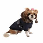View Image 1 of Wonderland Dog Coat by Puppia - Navy