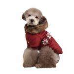 View Image 3 of Wonderland Dog Coat by Puppia - Wine