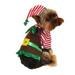 Workshop Elf Dog Costume
