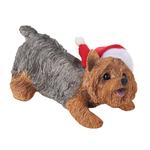 View Image 1 of Yorkshire Terrier Christmas Ornament - Wearing Hat