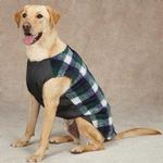 View Image 3 of Berber Ripstop Dog Vest - Navy