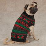 View Image 2 of Zack & Zoey Classic Holiday Dog Sweater