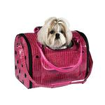 View Image 1 of Zack & Zoey Croco Pet Carrier Tote - Pink