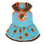 View Image 2 of Zack & Zoey Flutter Bugs Dog Dress - Bumble Bee