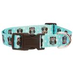 View Image 2 of Zack & Zoey Hoot and Howl Dog Collar